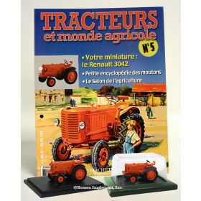 1/43 Renault R-3042 #5 Tracteurs et monde agricole Magazine Ed