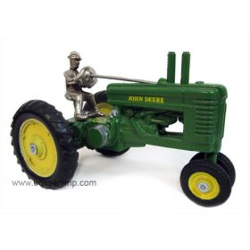 1/16 John Deere A NF with Man by Arcade Cast Iron