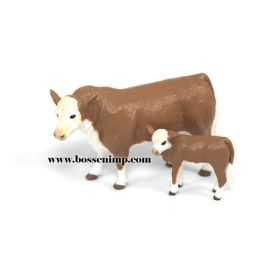 1/20 Cow Hereford Cow & Calf