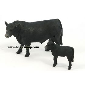 1/20 Cow Angus Cow & Calf Black
