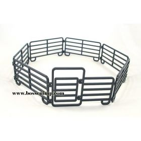 1/20 Cattle Corral 7 piece set