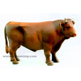 1/16 Cow Brown Bull
