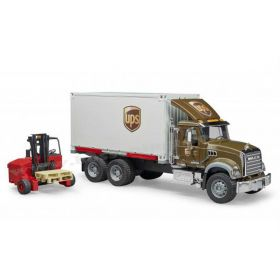 1/16 Mack Granite UPS Logistics Truck with Fork Lift
