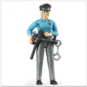 1/16 Woman Policewoman with light skin & Accessories