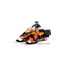 1/16 Snowmobile with driver and accessories
