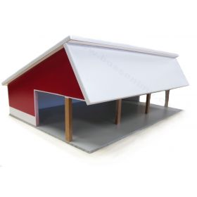 1/64Cattle Shed Red & White
