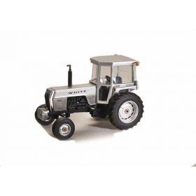 1/64 White 2-105 2WD with cab TTT 36th Anniversary