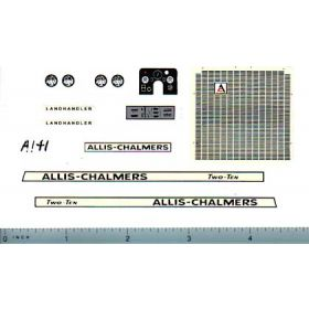 Decal 1/16 Allis Chalmers 210 Set (landhandler)