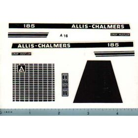 Decal 1/16 Allis Chalmers 185 Set