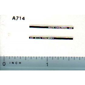 Decal 1/64 Allis Chalmers 440 Set (Long Stripe)
