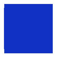 """Decal Bobcat Logo 7/8"""" (white)"""
