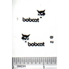 "Decal Bobcat Logo 7/8"" (black)"