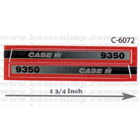 Decal 1/32 Case IH 9350 4WD Side Panels