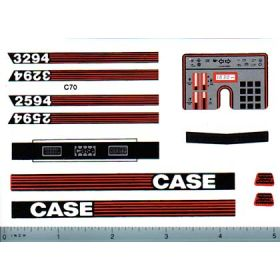 Decal 1/16 Case 2594 or 3294 Set