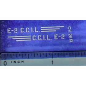 Decal 1/16 C.C.I.L. E-2 (smaller)