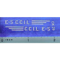 Decal 1/16 C.C.I.L. E-5