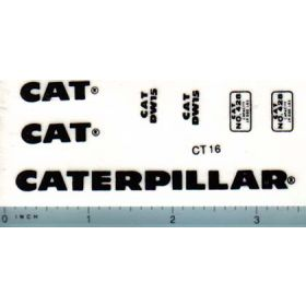 Decal 1/16 Caterpillar DW-15 Set