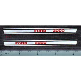 Decal 1/12 Ford 3000 Sood Stripe