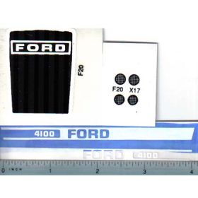Decal 1/12 Ford 4100 set