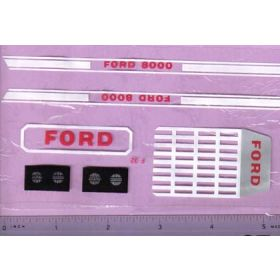 Decal 1/12 Ford 8000 Set (smallest) earliest