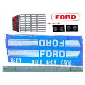Decal 1/12 Ford 8600 or 9600 set