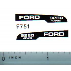 Decal 1/64 Ford/Versatille 9280 Hood Stripe
