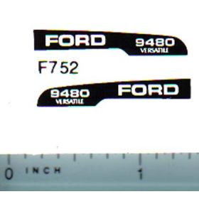 Decal 1/64 Ford/Versatille 9480 Hood Stripe