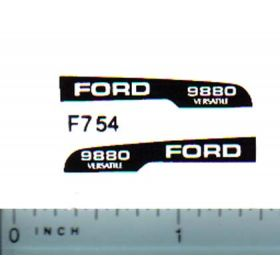 Decal 1/64 Ford/Versatille 9880 Hood Stripe