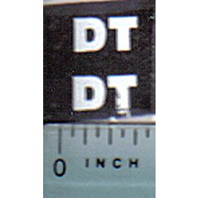 Decal 1/16 Hesston Model # DT