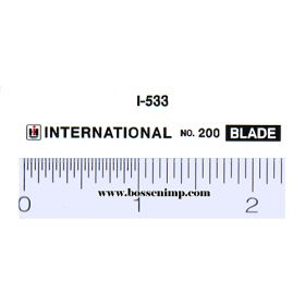 Decal 1/16 International No.200 Blade Set