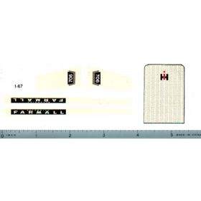 Decal 1/16 Farmall 706 Set (544 Conversion)