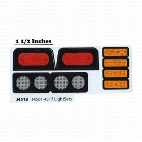 Decal 1/08 John Deere Light Set