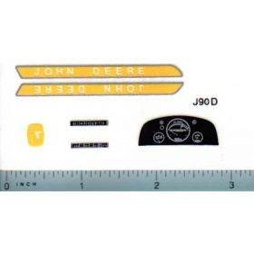 Decal 1/16 John Deere 10 Series Deluxe Set