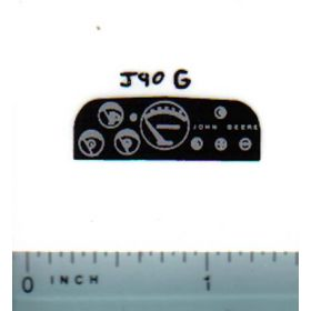 Decal 1/16 John Deere 20 series late Dash Pannel