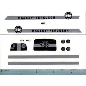 Decal 1/16 Massey Ferguson 1150 Set