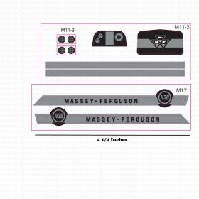 Decal 1/16 Massey Ferguson 1130 Set