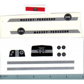 Decal 1/16 Massey Ferguosn 135 Complete Set