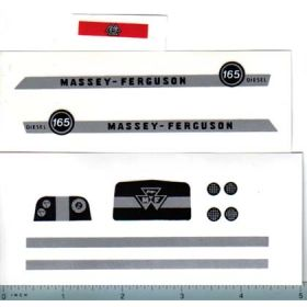 Decal 1/16 Massey Ferguson 165 Diesel Complete Set