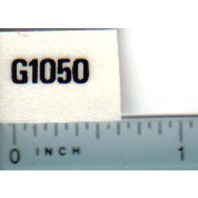 Decal 1/16 Minneapolis Moline G1050 Model Numbers