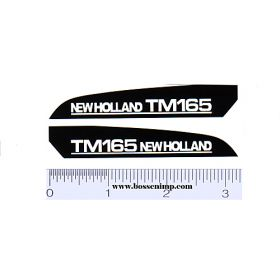 Decal 1/16 New Holland TM165 Hood Panels