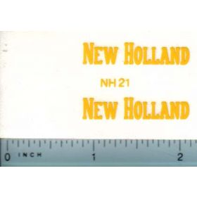 Decal 1/16 New Holland (tall, large)