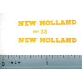 Decal 1/16 New Holland (short, small)