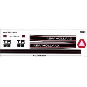 Decal 1/32 New Holland Combine TR-98 Set (black stripe)