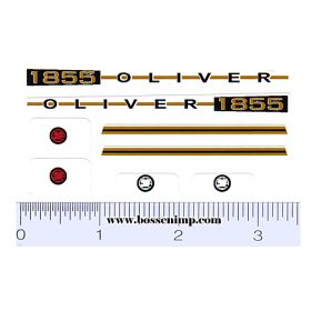 Decal 1/16 Oliver 1855 Set