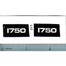 Decal 1/16 Oliver 1750 Model Numbers