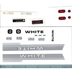 Decal 1/16 White 2-155 Set