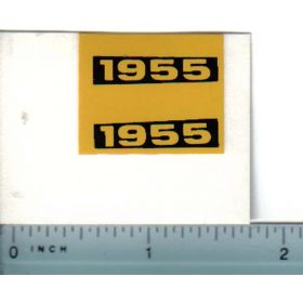 Decal 1/16 Oliver 1955 Model Numbers