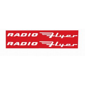 Decal Radio Flyer Wagon version 2