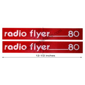 Decal Radio Flyer 80 Wagon