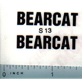 Decal 1/16 Steiger Bearcat Model Number